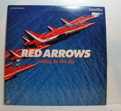 RED ARROWS rolling in the sky ( laser disc )