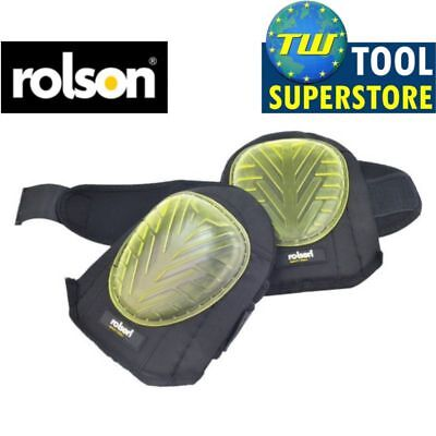 Rolson Gel Knee Pads Professional Industrial Heavy Duty Protect Caps Cups Strap