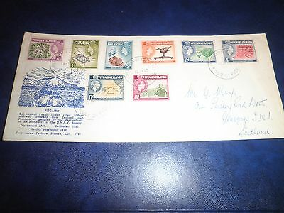 Pitcairn Islands Cover 1963 Stamps Cat £34