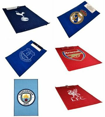 Football Soccer Fan Floor Rug Mats Crest Bed Team Gift Bedroom Carpet Official