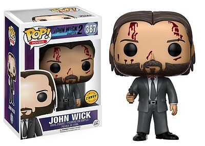 John Wick Chase Chapter 2 Keanu Reeves POP! Movies #387 Vinyl Figur Funko