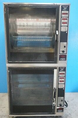 Henny Penny Double Stacked Electric Rotisserie Oven Scr-8