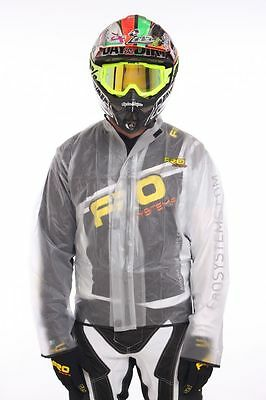 FRO Systems Rain Jacket - Waterproof, Mud, Race, Motocross, MX, BMX, INK MARKED