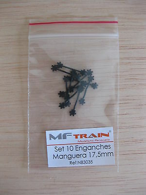 Mftrain - ref.N83035 - Set 10 Enganches barra manguera 17,5 mm