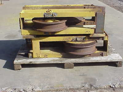 Bridge Crane end truck wheels