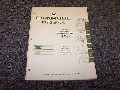 evinrude ski twin 33 manual