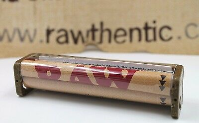 1x Genuine RAW Hemp Rolling Machine Hand Roller 110MM KING SIZE Rolling Papers