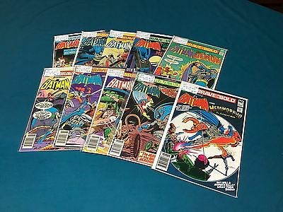 DC Comics The Brave & The Bold Lot Of 10 #132-154