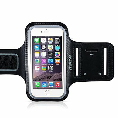 for iPhone 7/6/6S Plus Mpow Sports Running Jogging Gym Armband Case Cover Holder