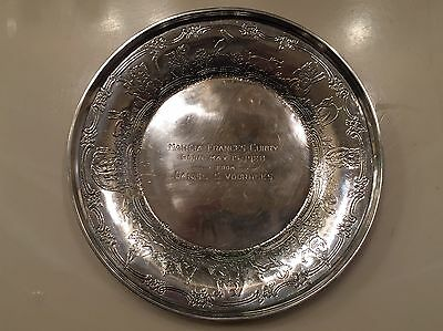 Vintage Weidlich Silver Co. Sterling  Plate