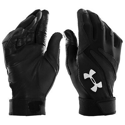 Youth Size Large Under Armour Clean Up Baseball Softball Batting Gloves #1231477