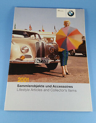2001 BMW Mobile Tradition Lifestyle Catalog - Brochure