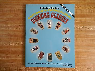 COLLECTORS GUIDE CARTOON & PROMOTIONAL DRINKING GLASSES Book Hervey characters