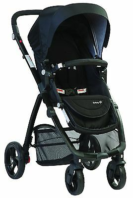 New Safety 1St Visto 4 Wheel Stroller Grey Au