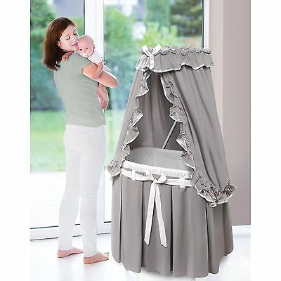 Baby Boy Bassinet Cradle Crib Nursery Newborn Sleeper Infant Canopy Girl Basket