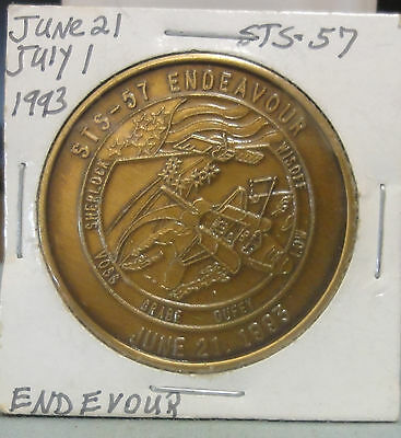 1993 STS-57 Endeavor~ Science Expedition~Bronze Medal~ Combined S.& H.