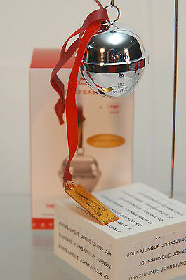 The First Gift Of Christmas 2016 Hallmark Ornament With Sound~Polar Express~New~