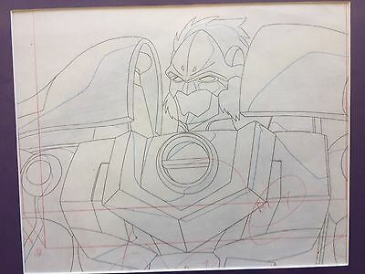 Transformers Animation Production Drawing