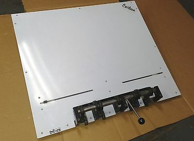 """Carlson  CP-5 30"""" registration plate punch"""