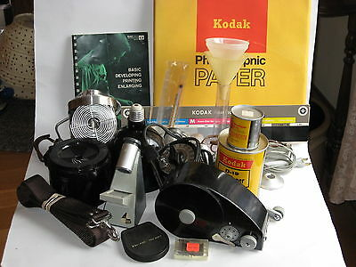 Vintage Large Lot Kodak / Misc Camera Film Developing  Dark Room Timers