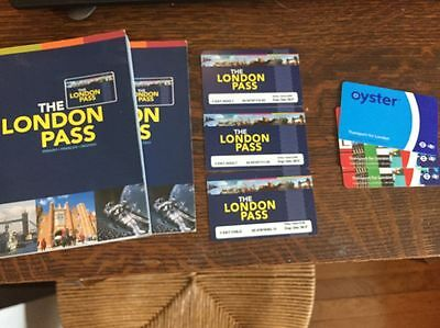 Traveling to London?  Get The London Pass x 2