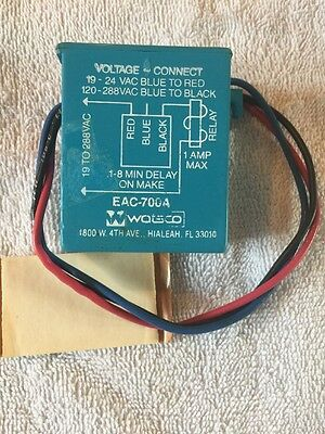 Vintage NOS Watsco EAC-700A Solid State Delay Timer Free Shipping