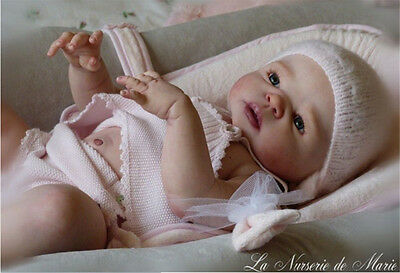 "23"" Girl Boy Lifelike Reborn Baby Silicone Kit Model Simulation Doll 02"
