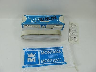 VINTAGE MONTANYL TOURING CLIMBING SKINS STRAIGHT CUT 200cm LONG 3.5cm WIDE