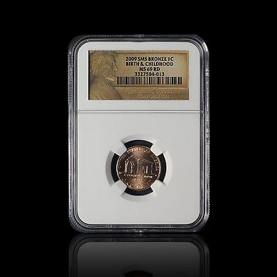 2009 Lincoln Cent Birth & Childhood NGC MS 69 RD