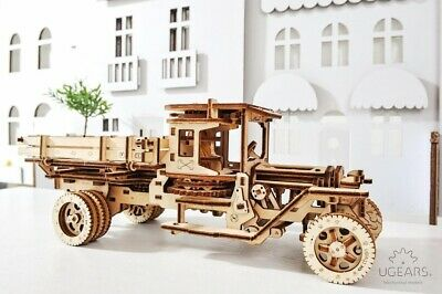 "UGEARS - Mechanical Wooden 3D Puzzle / Model Self-Propelled ""UGM-11Truck"""