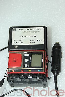 RKI GX-2001 Four Gas Compact Portable Personal Monitor with Charger
