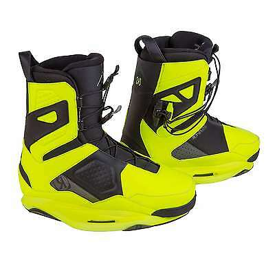 Ronix One Wakeboard Boot Yellow Size 10 Water Ski Gear