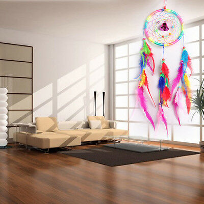 Handmade Dream Catcher with feathers car wall hanging decoration ornament