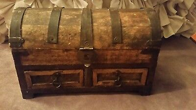 Antique Hand Made chest box