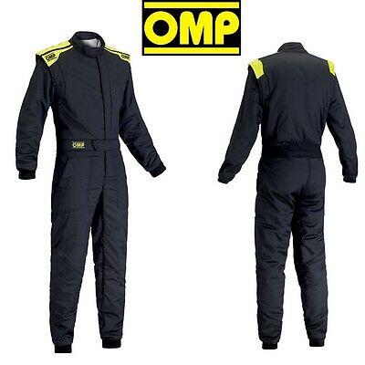 OMP First S 2-Layer Racing Suit 2017 - All Sizes - FIA 8856-2000 & SFI 3.2A/5