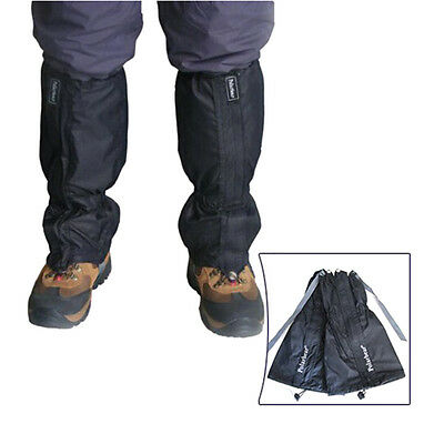 Waterproof Hiking Climbing Walking Boot Leggings Gators Trekking Snow Gaiters