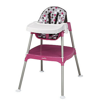 Baby High Chair Feeding Infant Toddler Travel Booster Portable Seat Highchair