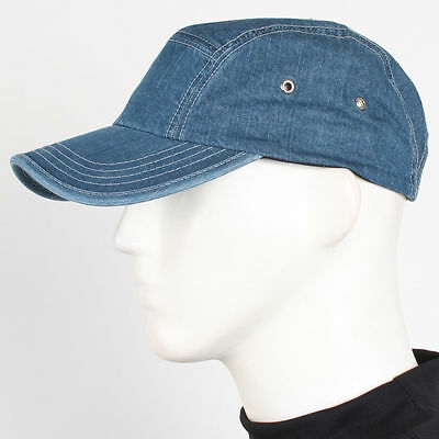 Military Denim Casual Baseball Cap Outdoor Activities Unisex Cotton Gatsby Hat