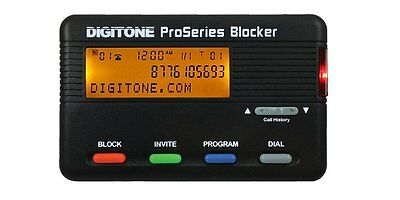 Digitone ProSeries Call Blocker - Back Lighted Display, 1,000 Blocked Number