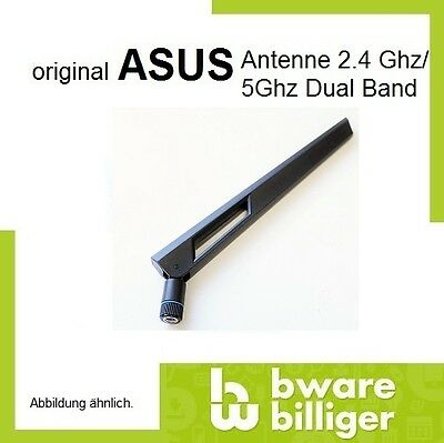 2x ASUS Antenne Router 2.4G / 5G Dual Band WIFI Fritzbox RP SMA Blue 9(XB300054)