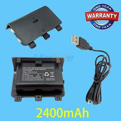 2400mAh UPGRADE Battery Pack For Microsoft Xbox One Games Controller