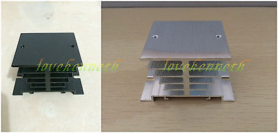 Heat Sink 80mm x 60mm x 50mm for Solid State Relay SSR Up To 40A + 2 screws