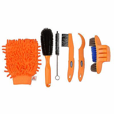 Bike Cleaning Tool Kit Bicycle Tyre Brush Chain Wash Brake Disc Cleaner Tools