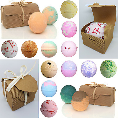 """Luxury Bath Bombs - Fizzers - Gift Boxed - """""""" 40 LUSH Fragrances """""""" -  4 for 3"""