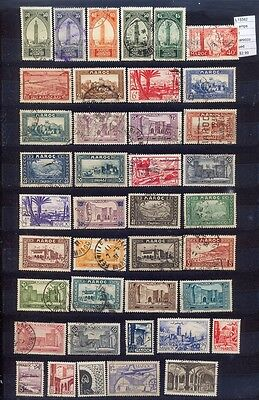 Stamps  Lot Morocco Used (L15582)