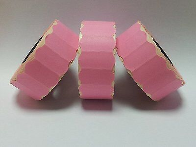 Avery , Lynx , Puma 15,000 Permanent Pink Price Gun Labels - CT4 26 x 12mm
