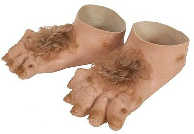 Hobbit Style Hairy Rubber Feet