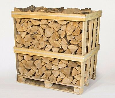 1m3 Kiln Dried Ash Logs including 3 x 4KG free kindling bags & delivery BEST BUY