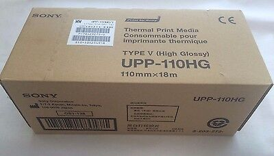 Sony Upp-110Hg Thermal Print Paper For Up-895Md D895 897Md D897 Printer-10 Rolls