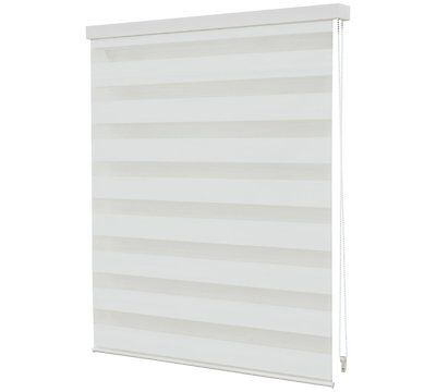 Day and Night Roller Blind 4FT White Shade A Fabric Roller That Controls Lights